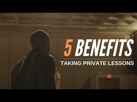 5 Benefits    Taking Private Lessons
