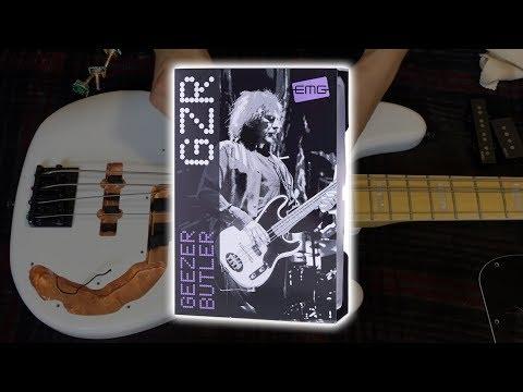EMG GZR Geezer Butler Signature PJ Bass Pickups