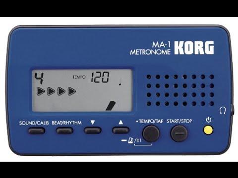 DB-14 Introducing the Korg MA 1 Metronome