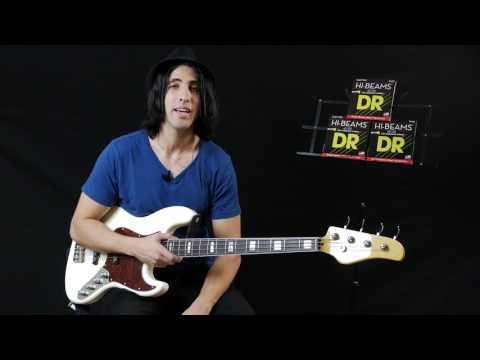 DR Strings Hi-Beam Bass Strings Demo
