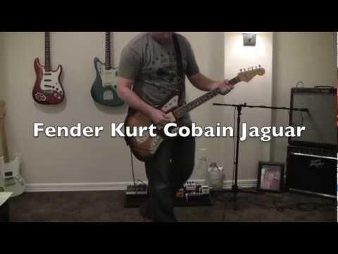 Fender Kurt Cobain Jaguar Clean Demo
