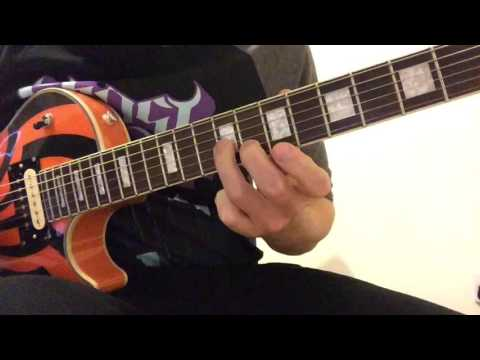Ghost: Spirit - guitar lesson- REVISED. (Both Ghoul solos)