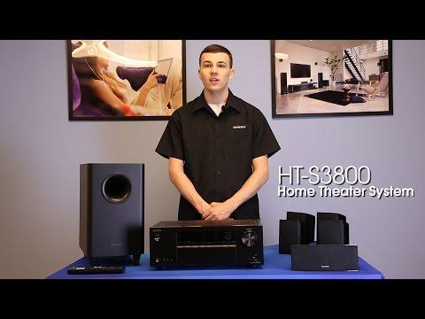 ONKYO – HT-S3800 5.1 Channel Speaker Setup