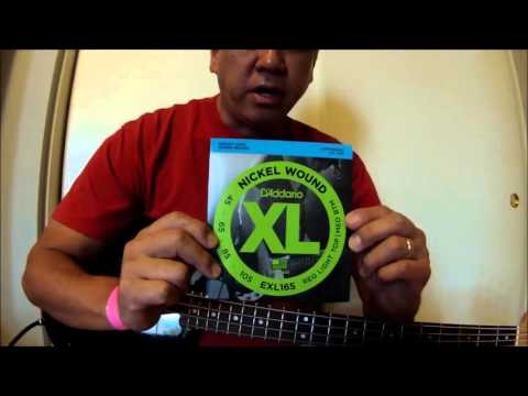 """""""New D'Addario Nickel Wound Bass Strings"""""""