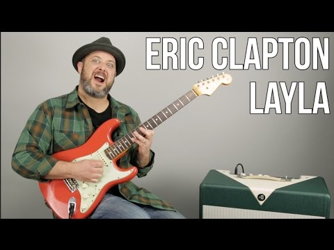 Eric Clapton Layla Electric Guitar Lesson + Tutorial