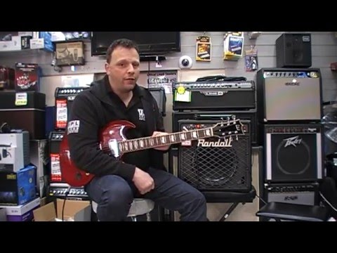 Randall RG80 guitar amp combo over view