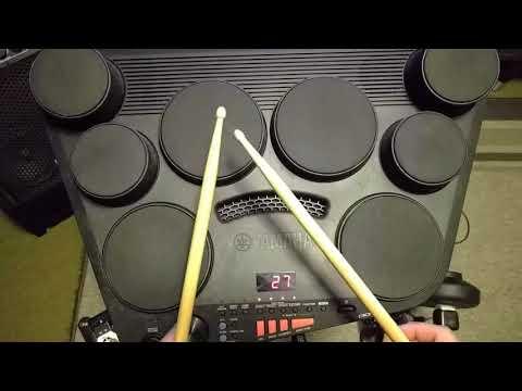 Yamaha DD-75 - Custom kits, MIDI Control and more