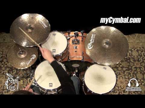 "Bosphorus 18"" Black Pearl Crash Cymbal (BP18C-1031015A)"