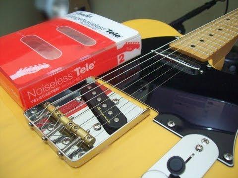 Fender Vintage Noiseless Telecaster - by Júnior Ferreira