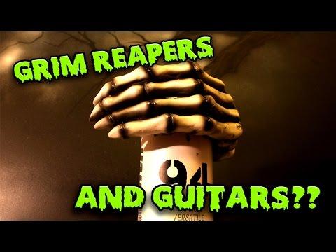 GRIM REAPER GUITAR HANGER