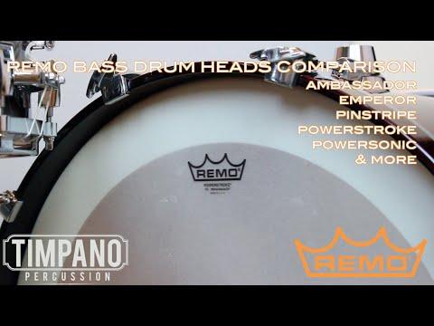 ULTIMATE Remo Bass Drum Head Comparison - Timpano Percussion