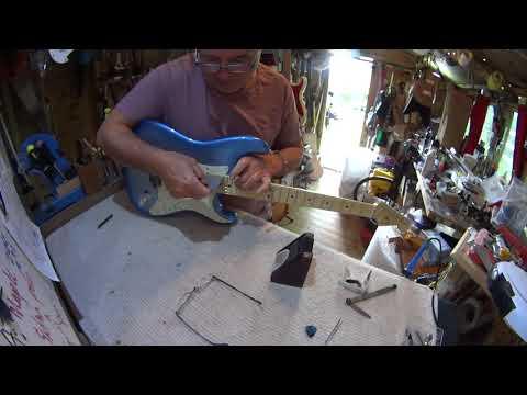 Fender USA American Elite Strat set up