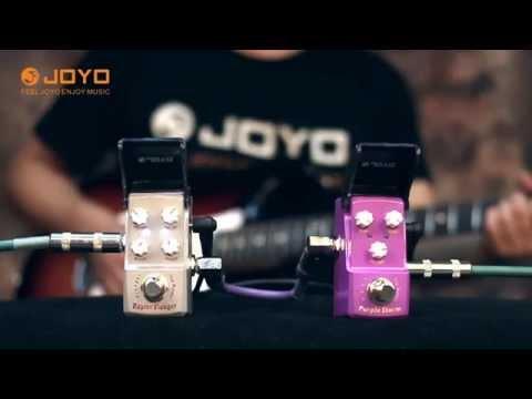 Raptor Flanger + Purple Storm JOYO IRONMAN SERIES PEDAL (Official Demo Video)