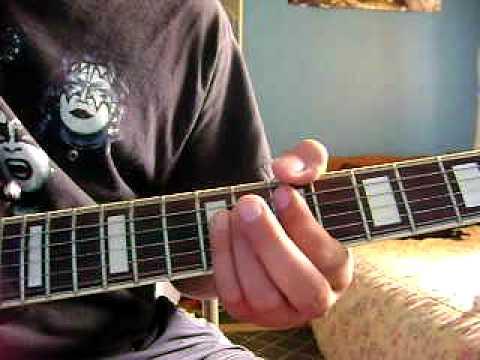 Calling Dr. Love by Kiss Rhythm Guitar Lesson