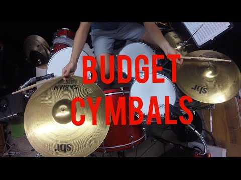 Jamming with the Sabian sbr cymbal pack