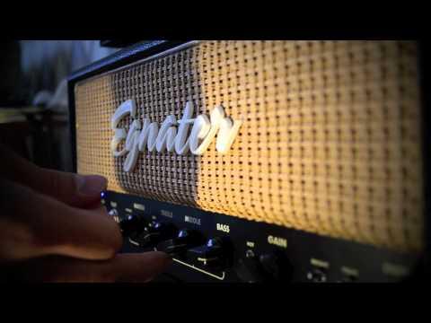Egnater Tweaker 15 watt and 112 cab demo, at bedroom volumes