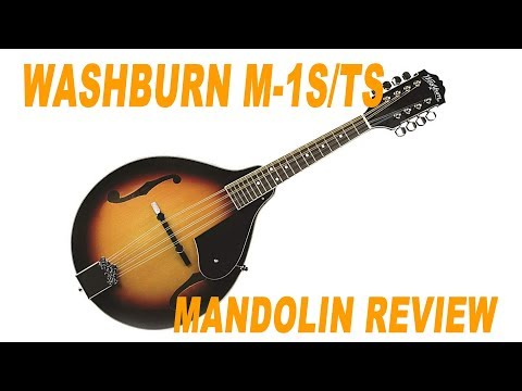 Washburn M-1S/TS Mandolin Review \ Stefan's Bass Blog