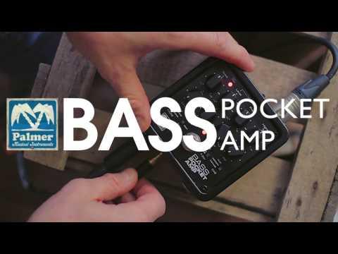 Pocket Amp Bass - Portable Bass Preamp