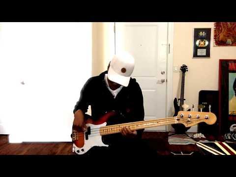 Fender P Bass. Fender original P bass pickups demo