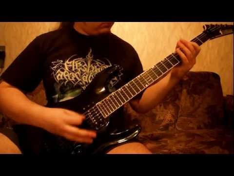 Fleshgod Apocalypse - Thru Our Scars (guitar cover).avi