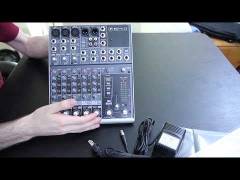 Mackie 802-VLZ3 Unboxing and First Impressions