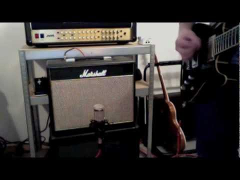 Marshall Class 5 with Greenback G10 and Wizard HQ Audio