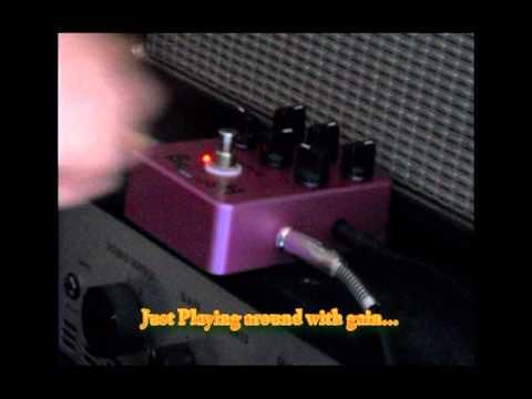JOYO JF-16 British Sound Quick Demo