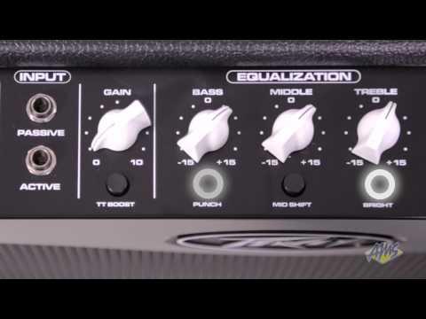 Peavey MAX 115 II Bass Guitar Combo Amplifier - Peavey MAX 115 II