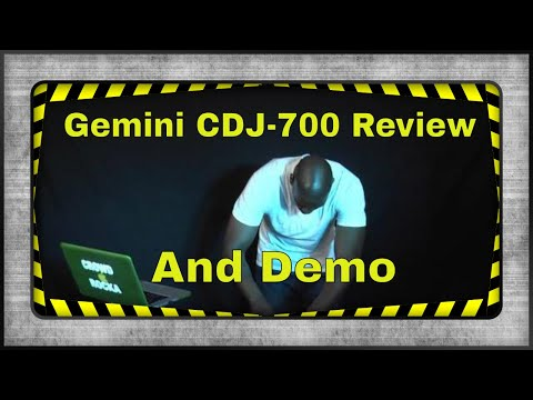 Gemini CDJ-700 Unboxing and Demo by DJ Mista Soull (Direct Pro Audio)