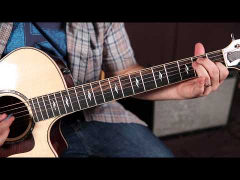 """How to play """"Eight Days a Week"""" by The Beatles On Guitar"""