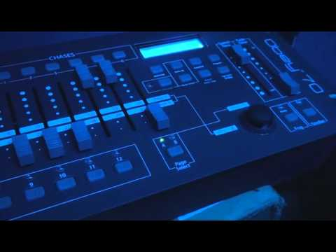 Chauvet Intimidator wave IRC & obey 70 controller