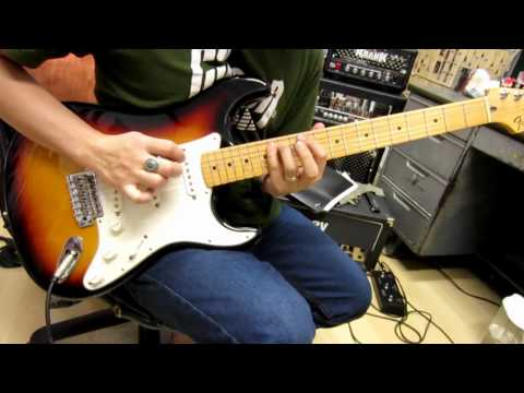 Fender Standard Stratocaster Guitar Demo By Chatreeo