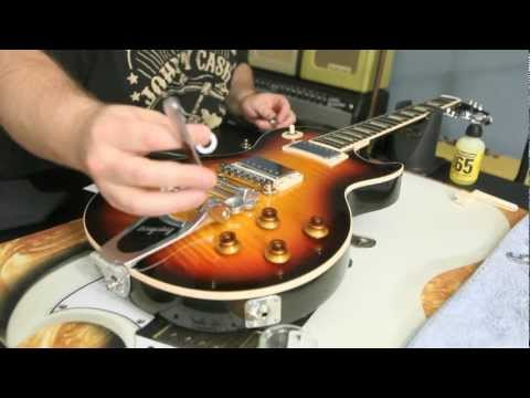 How to Install a Bigsby B7 and Vibramate V7 on Gibson Les Paul Standard by Scott Sill