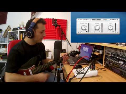 Using The Yamaha AG03 Mixer Audio Interface
