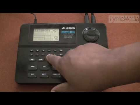 Alesis SR-16 Digital Drum Machine
