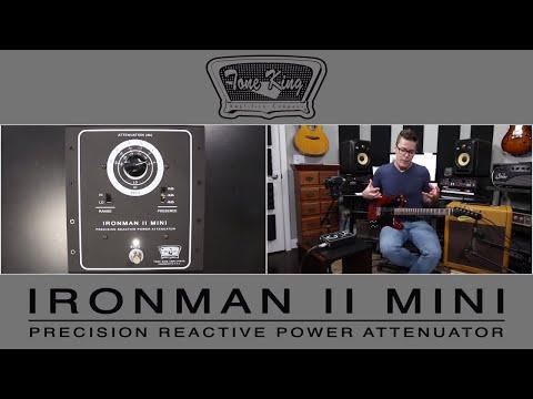 Tone King Ironman II Mini Attenuator Demo Video by Shawn Tubbs