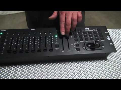 ADJ DMX Operator 384 with MIDI