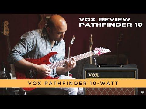 VOX mini amp Pathfinder 10 review & demo tones