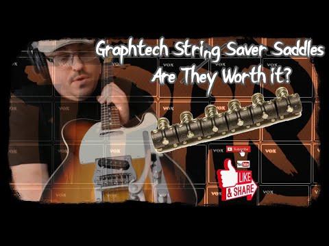 Graphtech String Saver Saddles