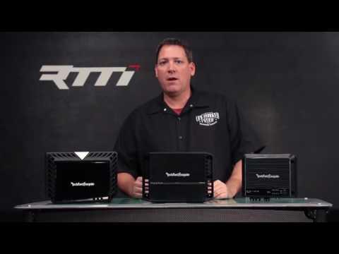 Rockford Fosgate: Amplifier Comparison (1.2)
