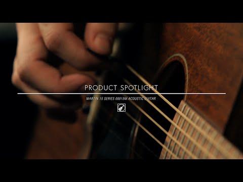 Martin 15 Series 00015M Acoustic Guitar Demo