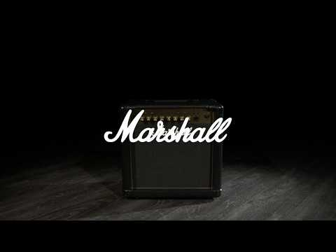 Marshall MG15GFX Gold 15W Guitar Combo | Gear4music demo