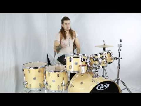 PDP by DW Concept Maple 7pc Drum Set Demo - Natural Lacquer - Greenbrier Review