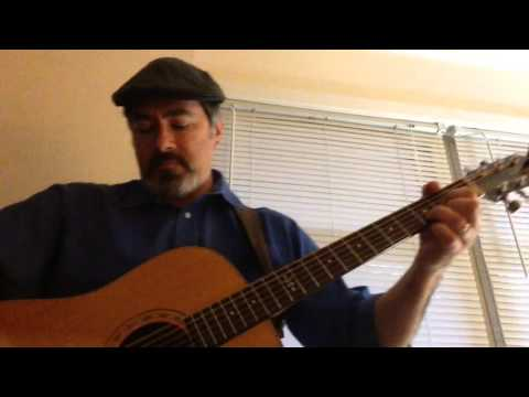 Blues & rock riffs on my Yairi DY52 + John Pearse bluegrass pb strings