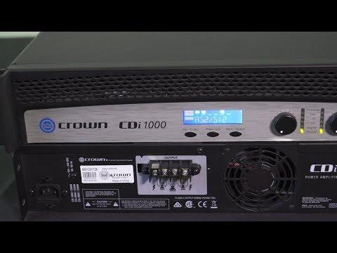 TruAudio TechTip - Crown CDi DSP Presets