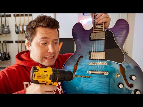 Installing a Bigsby Bridge on my guitar