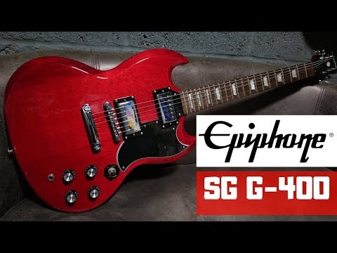 Epiphone SG G-400 Cherry Red Review