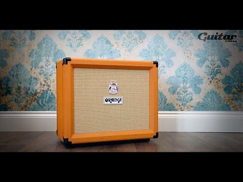 Orange Rocker 15 guitar amp demo