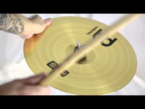 """Meinl HCS 14"""" China Cymbal - Trade Show Stock + Video - HCS14CH"""