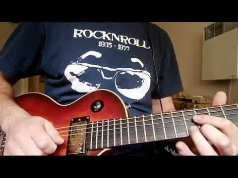 Gibson 57 classic / Gibson 57+ pickup audio test #1